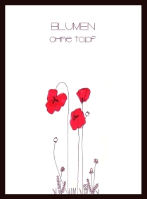 postal flores sin maceta