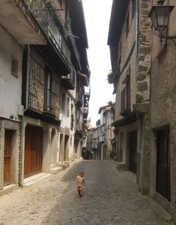 La Alberca - Straße