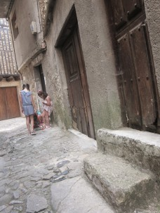 La Alberca - Kinder auf Straße